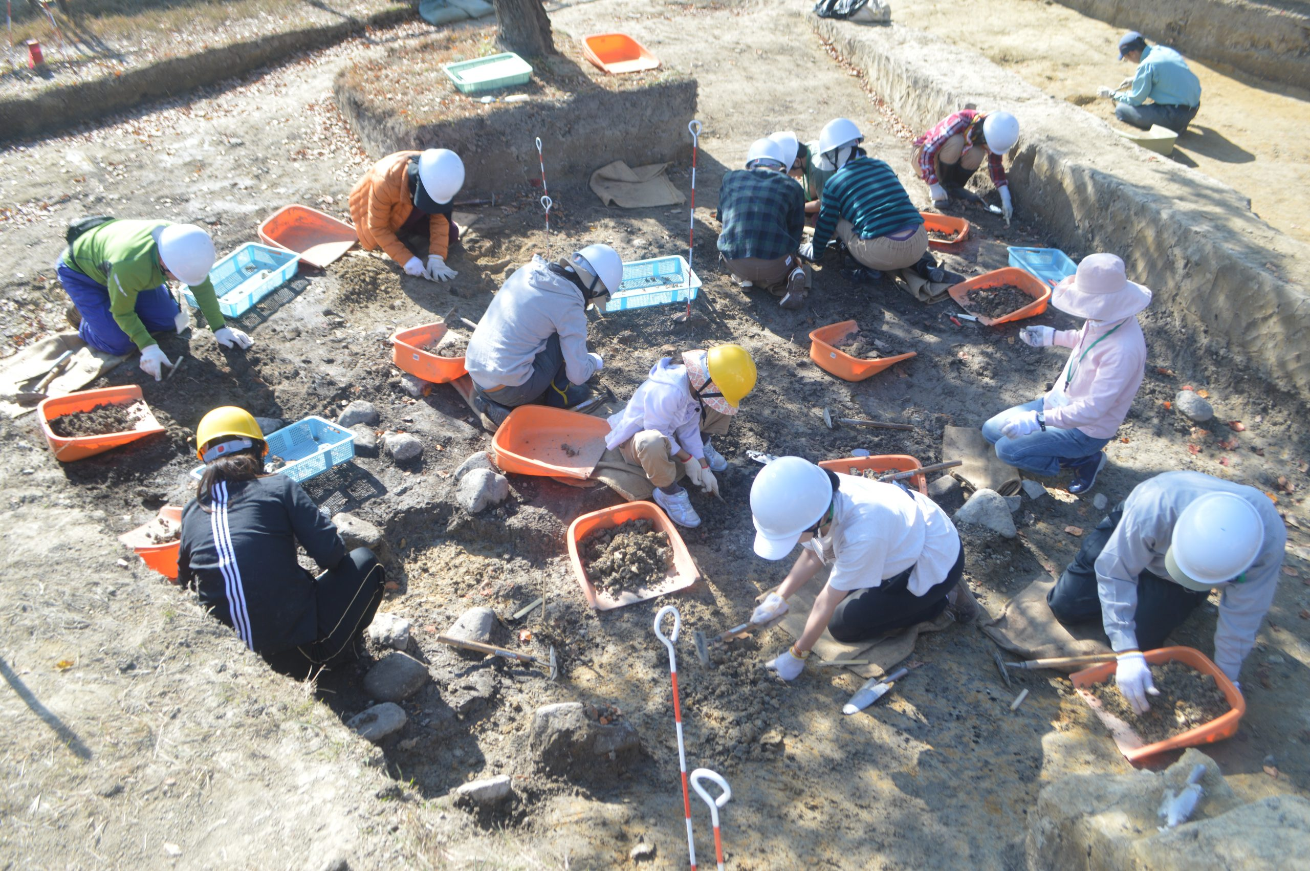 2020年度 志段味古墳群の発掘調査体験イメージ1